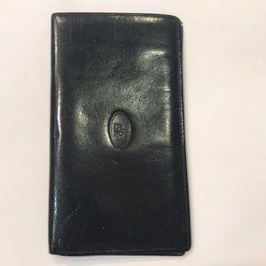 Christian Dior Leather Vintage Wallet/Portfolio